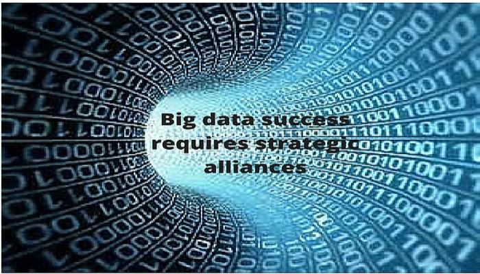 Success in big data comes from Strategic Alliances